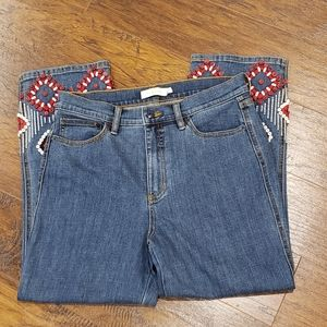 Tory Burch high waisted Mia Jean's